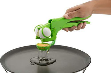 Plastic Handheld Egg Cracker with Separator for Raw Eggs