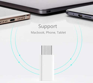 USB Type C Adapter 3.0 to Micro USB Converter USB-C Charger OTG Data Sync