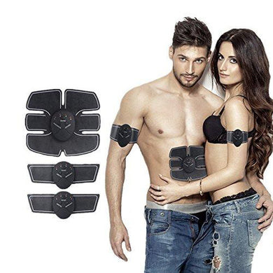 Wireless Abdominal and Muscle Exerciser Training Device Body Massager | Smart Fitness Stimulator EMS Slimming Beauty Machine