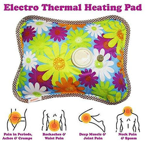 Electric Hot Water Bag For Pain Relief And Muscles Relaxation - HomeEkart