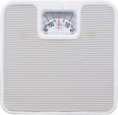 Analog Weighing Scale Iron Body Material 1 KG To 130 KG white - HomeEkart