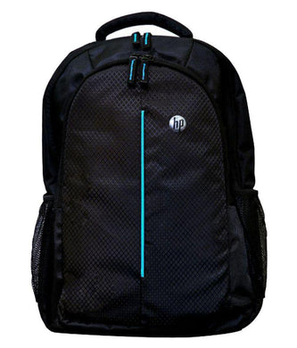 HP Laptop Bag 15.6 inch backpack Black Blue - HomeEkart
