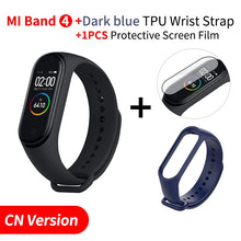 Global Version Xiaomi Mi Band 4 Smart Miband Color Screen Bracelet Heart Rate Fitness Music Bluetooth5.0 50M Waterproof - HomeEkart