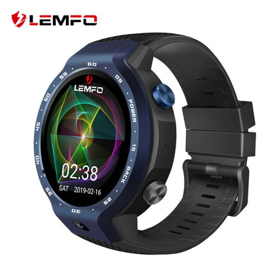 LEMFO LEM9 New Dual Systems 4G Smart Watch Men Android 7.1 1.39 Inch Screen 5MP Camera 600Mah Battery IP67 Waterproof Smartwatch - HomeEkart