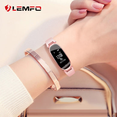 LEMFO S3 Smart Watch Women Wristbands Fitness Bracelet Heart Rate Monitor IP68 Waterproof Bluetooth For IOS Android - HomeEkart