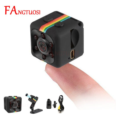 FANGTUOSI sq11 Mini Camera HD 1080P Sensor Night Vision Camcorder Motion DVR Micro Camera Sport DV  Video small Camera cam SQ 11 - HomeEkart