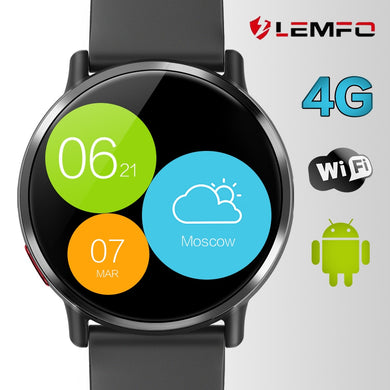 LEMFO LEM X Android 7.1 4G 2.03 Inch 900Mah 8MP Camera Waterproof Luxury Smart Watch Sport GPS Watch Smartwatch For Men - HomeEkart