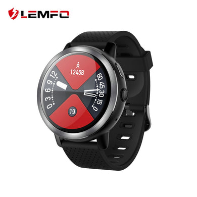 LEMFO LEM8 4G Smart Watch Android 7.1.1 2GB + 16GB With GPS 2MP Camera 1.39 Inch AMOLED Screen 580Mah Battery Smartwatch Men - HomeEkart