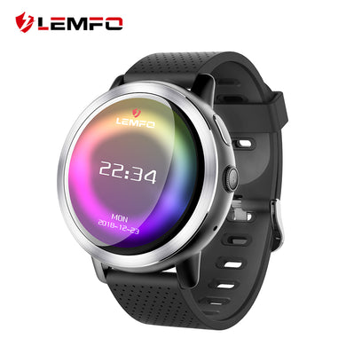 LEMFO LEM8 4G Smart Watch Android 7.1.1 GPS Smartwatch Men 2GB 16GB 580Mah Battery 1.39 Inch AMOLED Screen Sport Watch - HomeEkart