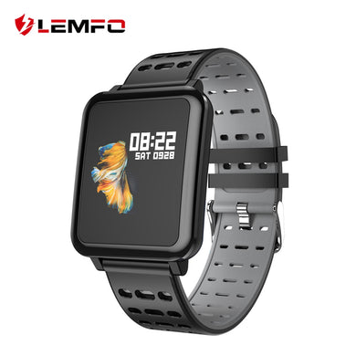 LEMFO T2 Smart Watch Men IP67 Life Waterproof Professional Sport Modes Long Standby Support Multiple Languages Smartwatch Women - HomeEkart