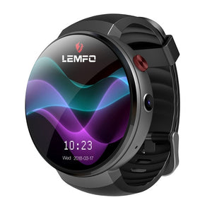 LEMFO LEM7 Smart Watch Android 7.1 Smartwatch LTE 4G Smart Watch Phone Heart Rate 1GB + 16GB Memory with Camera Translation tool - HomeEkart