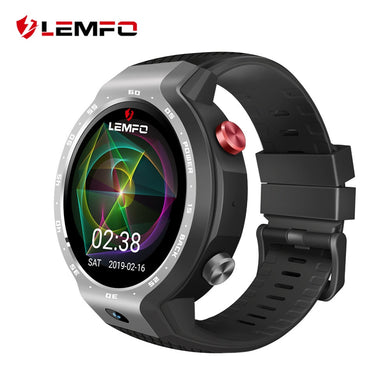 LEMFO LEM9 2019 New Arrival 4G GPS Smart Watch Android 7.1 And Fitness Bracelet Dual Systems 5MP Front Camera 5 Days Standby - HomeEkart