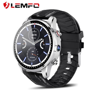 LEMFO LEF3 Smart Watch Android 7.1 GPS Smartwatch Men LTE 4G Smart Watch Phone Heart Rate 1GB + 16GB Memory with 2MP Camera - HomeEkart