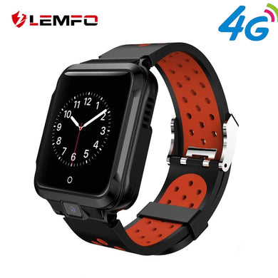 LEMFO M11 4G Smart Watch Android GPS Bluetooth Wifi Camera 1GB +8GB 750Mah Big Battery Sport Smartwatch Men Replaceable Strap - HomeEkart