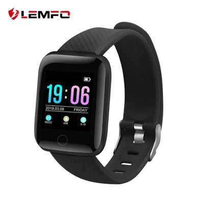 LEMFO D13 1.3 Inch Smart Watch Men IP67 Waterproof Heart Rate Monitor Smartwatch Women For Android IOS Apple Watch Phone - HomeEkart