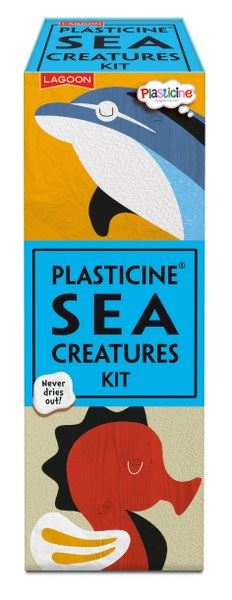 Lagoon - Plasticine Sea Creatures Kit - Makes 6 Creatures