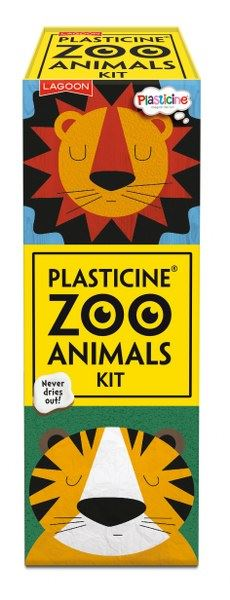 Lagoon - Plasticine Zoo Animals Kit - Makes 6 Animals