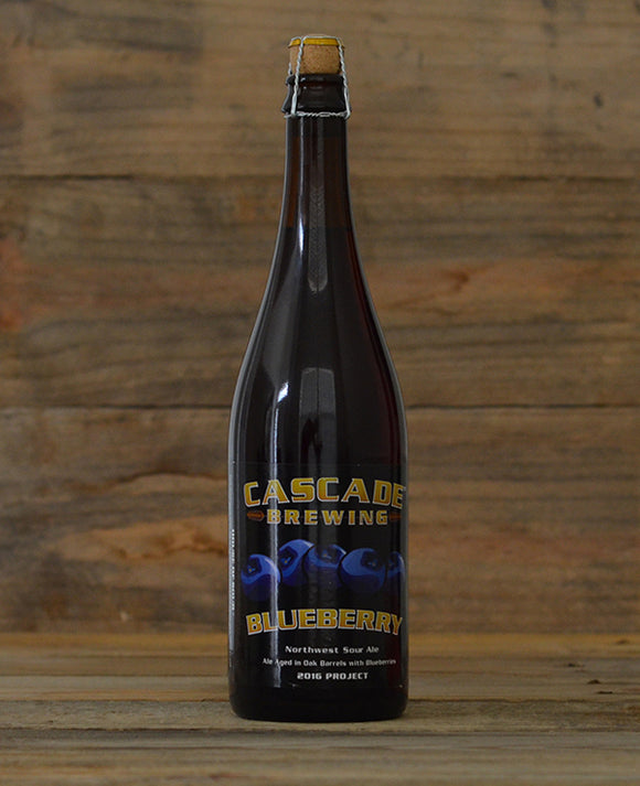 Cascade Brewing Blueberry 2016