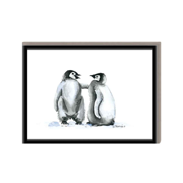 Dierenposter Penguins