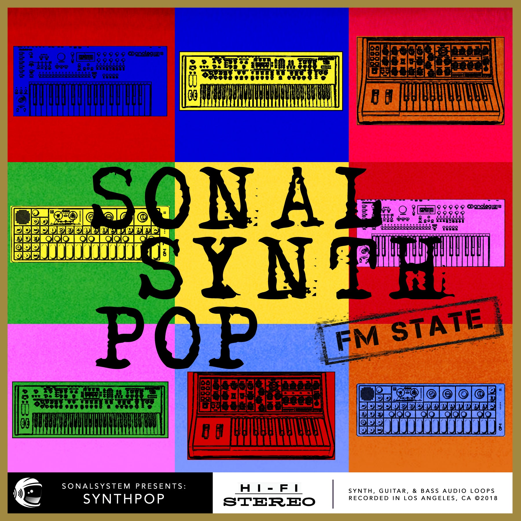 Sonal Synth Pop FM State