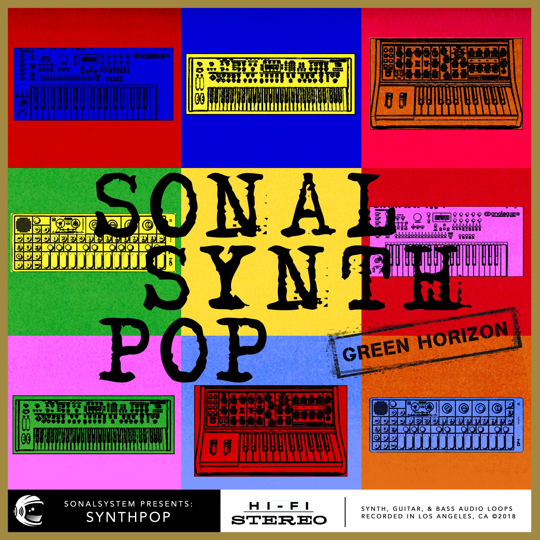 Sonal System Pop Green Horizon