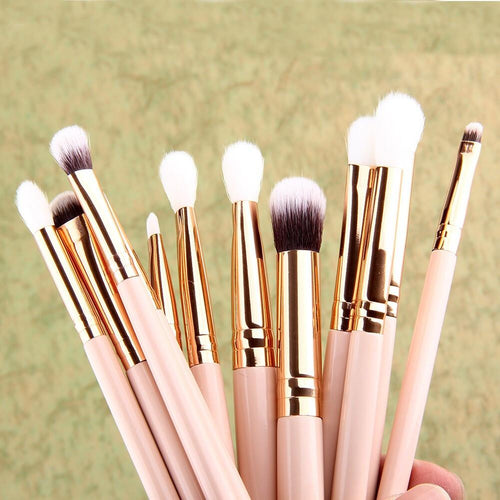 12 pc eyeshadow brushes