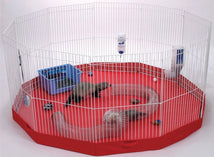 Marshall Pet Products Small Animal-Enclosures ASSORTED / 45X45 IN Marshall Pet Products - Playpen Mat For Small Animals
