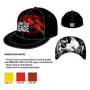 Killswitch Engage Wolf - Mens Black Baseball Hat