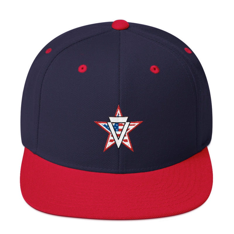 Verge July 4th Snapback Hat