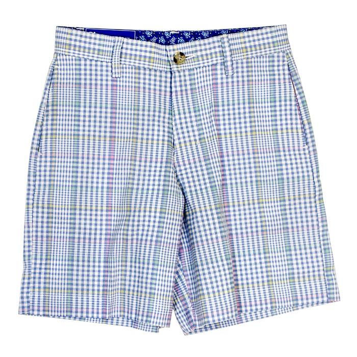 River Plaid Shorts