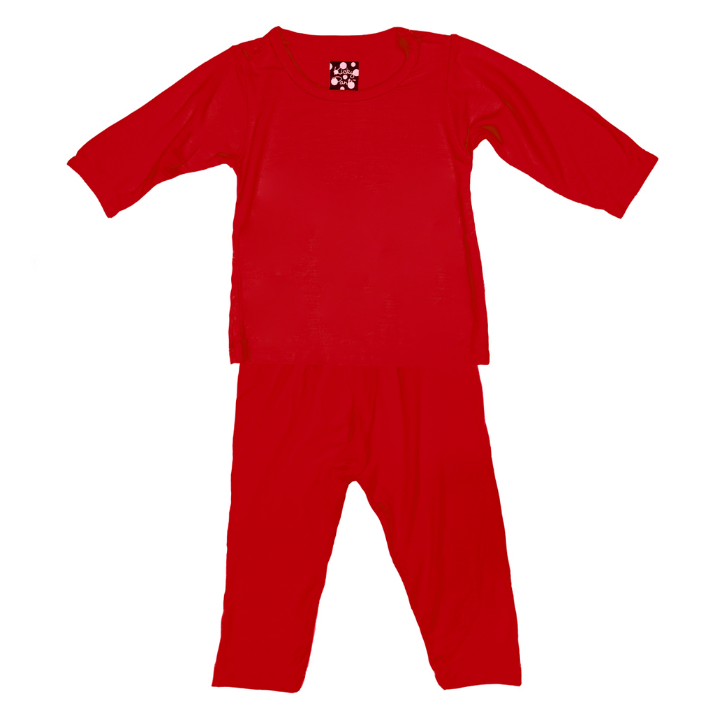 Crimson Long Sleeve PJ Set