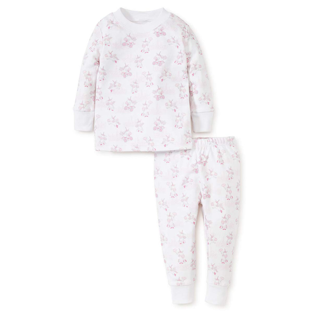 Unicorn Print Pajama Set