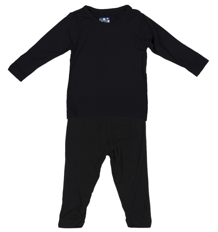 Midnight Long Sleeve Pajama Set