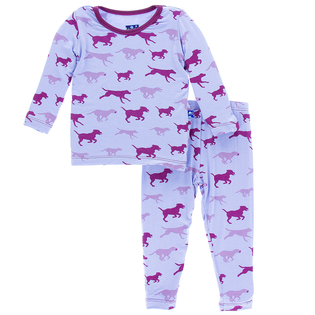 Lilac Running Labs Long Sleeve Pajama Set
