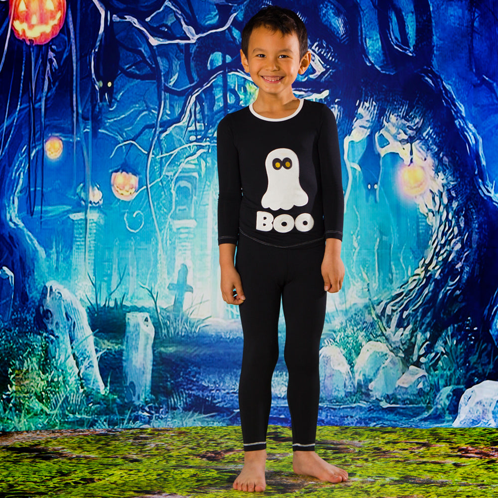 Midnight Boo Long Sleeve 2 Pc PJ