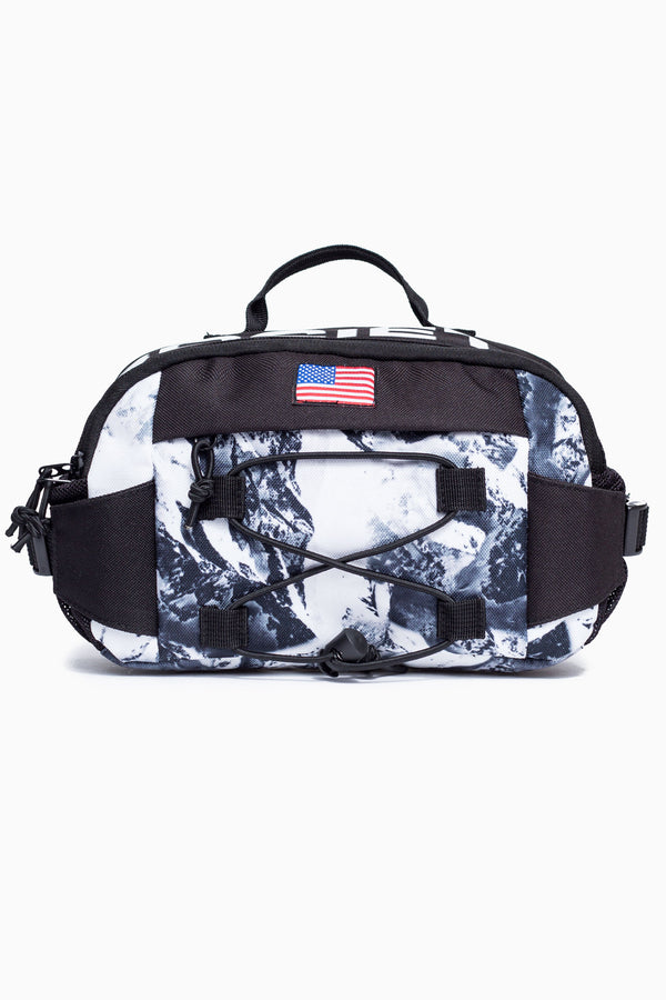 SOCIETY SPORT ALPINE FLAG CROSS BODY BAG