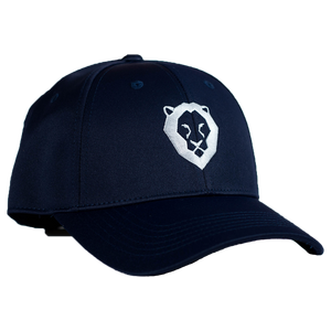 ROAR GOLF HAT - NAVY BLUE/WHITE