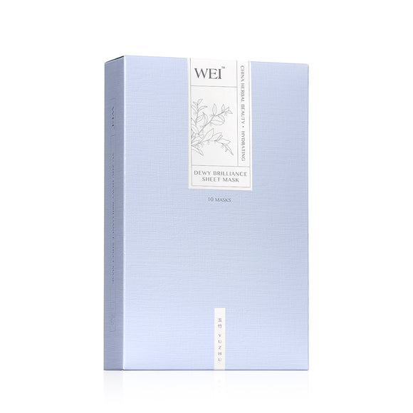 Yu Zhu Dewy Brilliance Sheet Mask