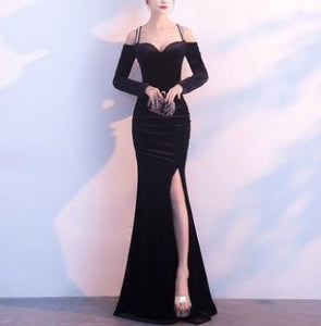 Sleeveless Elegant Evening Dress