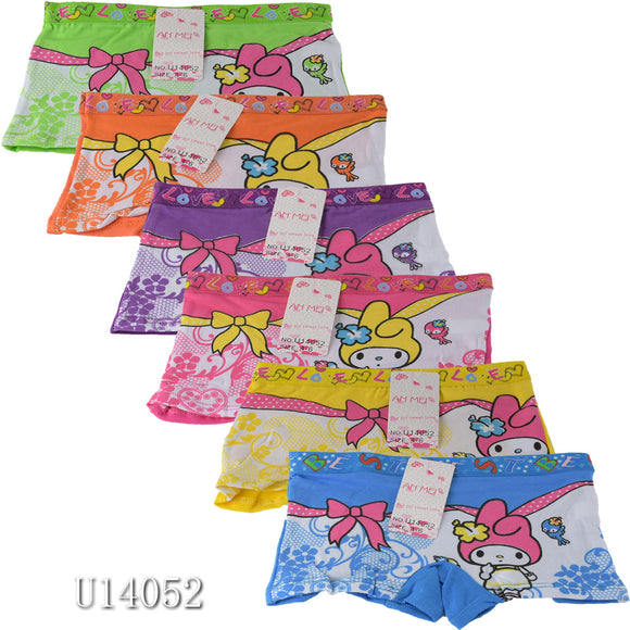 Wholesale Kids Girls Panties Underwear Shorties, U14052 - OPT FASHION WHOLESALE