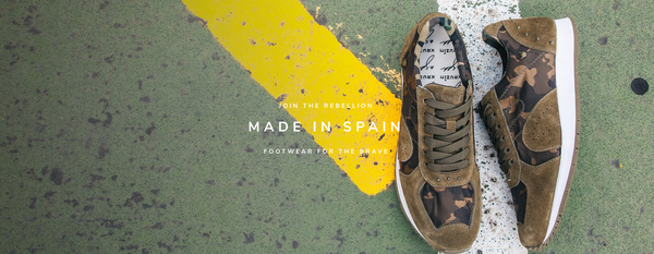 JOIN THE REBELLION | MADE IN SPAIN | FOOTWEAR FOR THE BRAVE