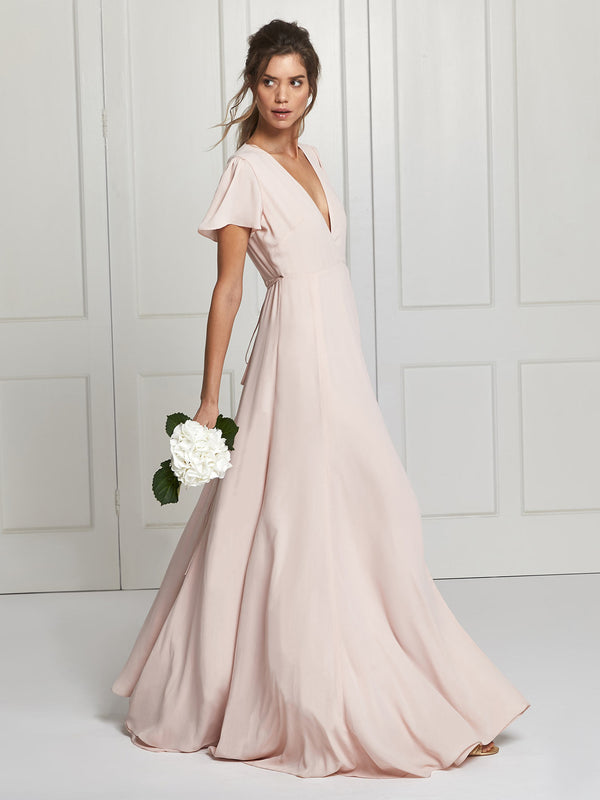 Blush Bridesmaid Dress