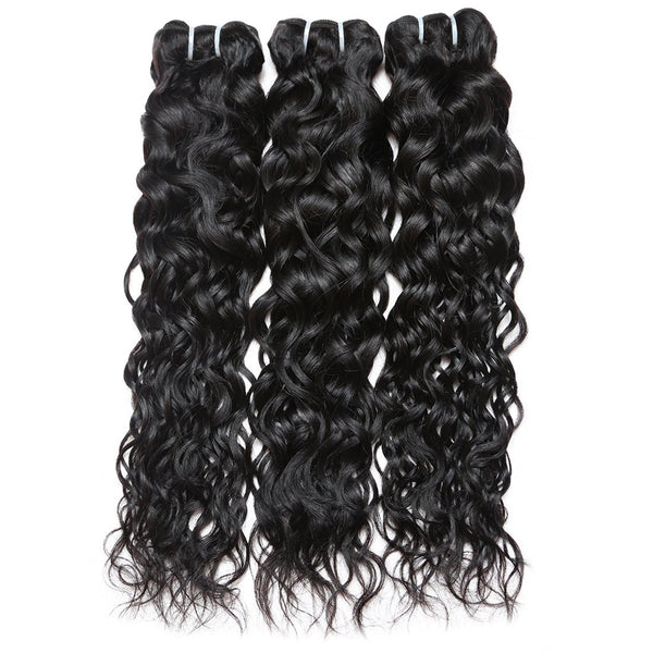 Easy Hair Indian Water Wave Human Hair Extensions 3pcs/lot - Easy Hair