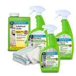 BulletProof Countertop Clean, Seal & Maintain Kit ~ Water Based Version