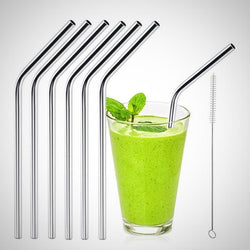 Reusable Drinking Straws - with juice