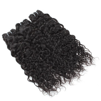Malaysian Hair Water Wave 3 Bundles Virgin Natural Wave Human Hair - ExcellentVirginHair