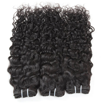 Peruvian Water Wave Human Hair 3 Bundles - ExcellentVirginHair