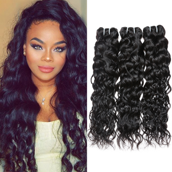 Ama Brazilian Virgin Hair Water Wave 3 Bundles - ExcellentVirginHair