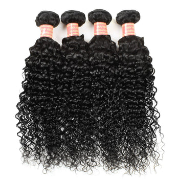 Wholesale Indian Virgin Hair Kinky Curly Human Hair Extensions 10 Bundles - Urfirst Hair