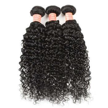 Unprocessed Malaysian Curly Virgin Hair 3 Bundles - Urfirst Hair
